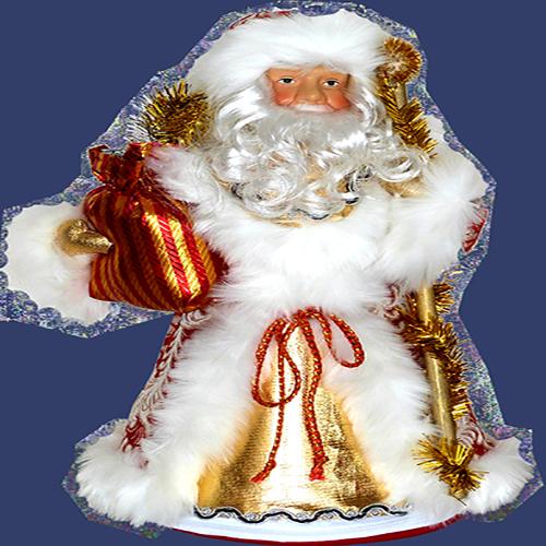 """Новогодний """"Дед Мороз"""" (керамика)"""