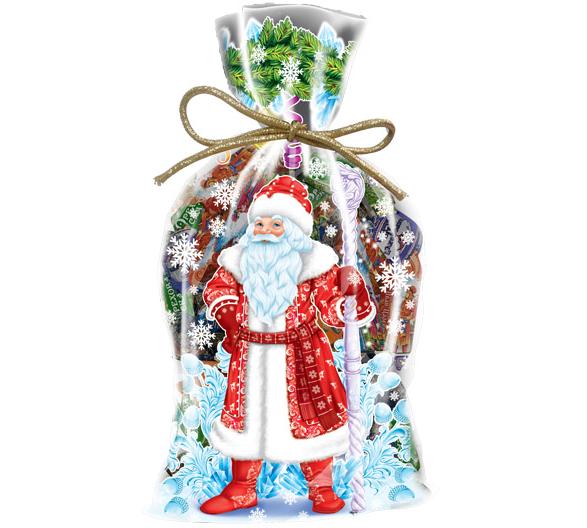 Мешочек Деда Мороза (ПВХ