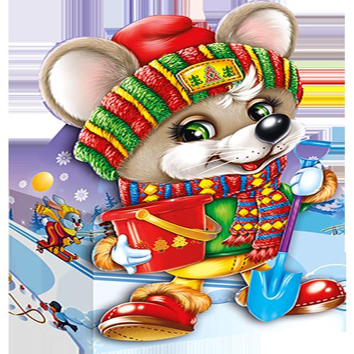 Мышонок Джерик (картон)