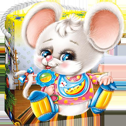Мышонок Пик (картон)