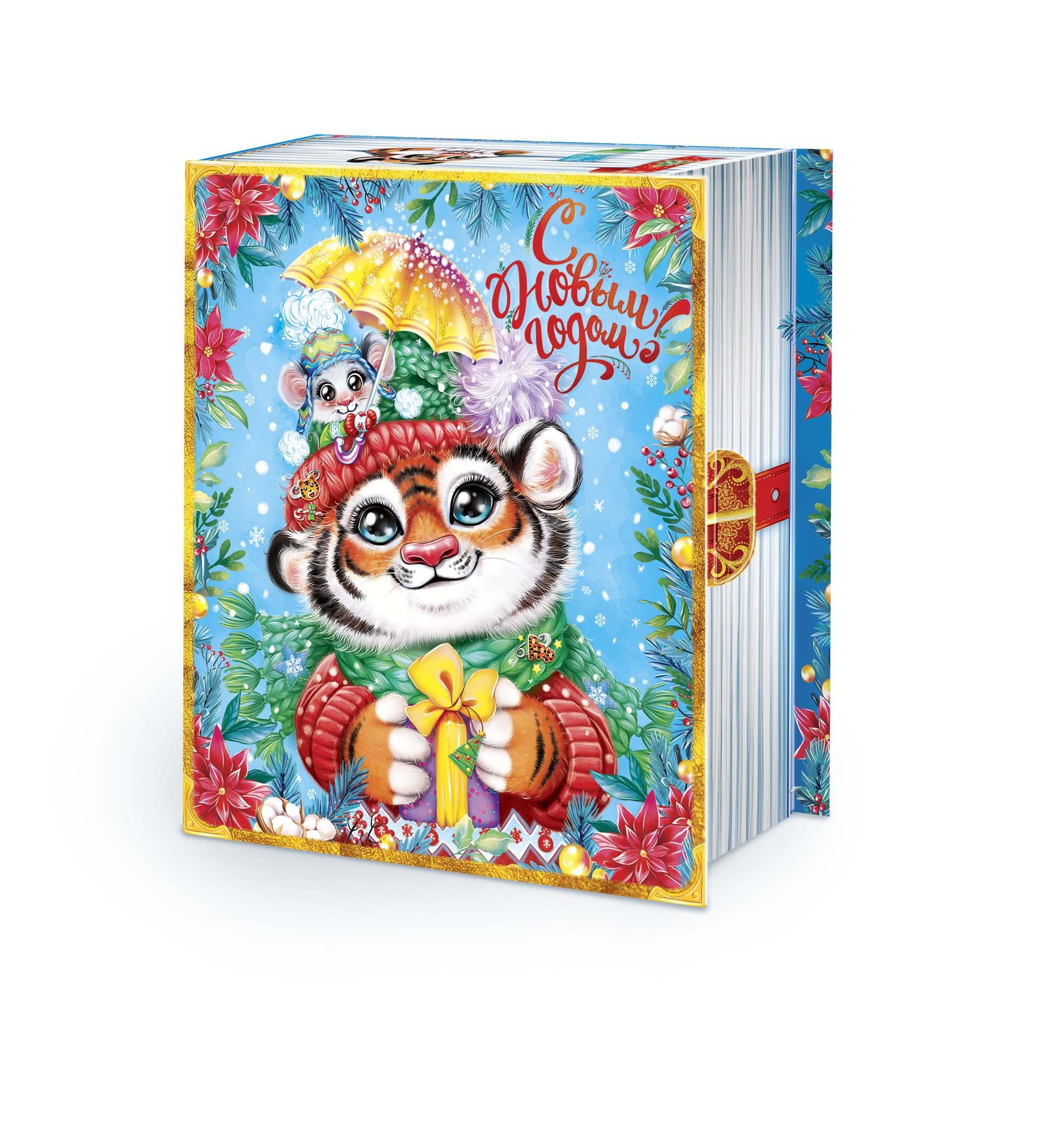 """Книга """"Факты о тиграх"""" (картон)"""