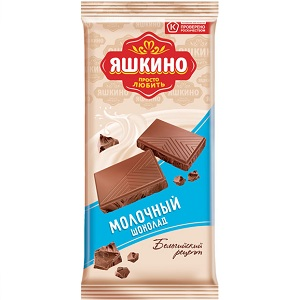 Плитка Шоколад Яшкино 90гр (КДВ)