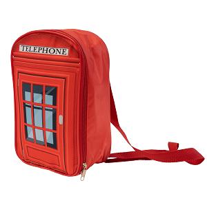 Упаковка Рюкзак Телефонная будка